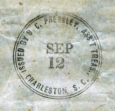 BC             Pressley Asst Trea Charleston S.C.