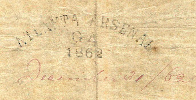 Atlanta Arsenal, Georgia 1862