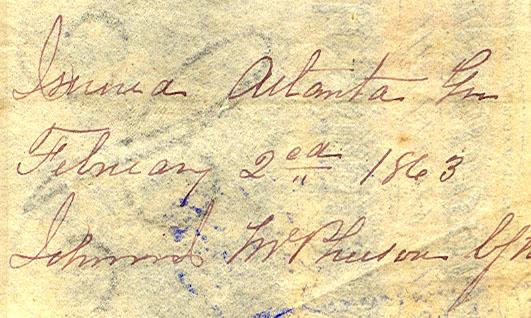 McPhearson Naval Atlanta 1863