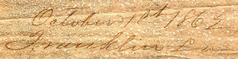 Franklin La Oct 1 1862