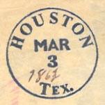 Houston Texas Bogus Post Mark