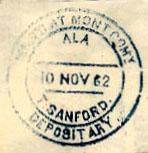 Montgomery Ala TSanford Nov 10 1862