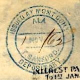 Montgomery Ala T Sanford Nov 1 1872