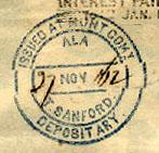 Montgomery Ala TSanford Nov 27 1862