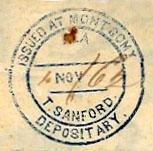 Montgomery Ala TSanford Nov 4           1862http://csatrainmen.com/NEW/PLACE/MontgomeryAla_4Nov62_Sanford.jpg