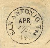 San Antonio Tx PM April 13 1863